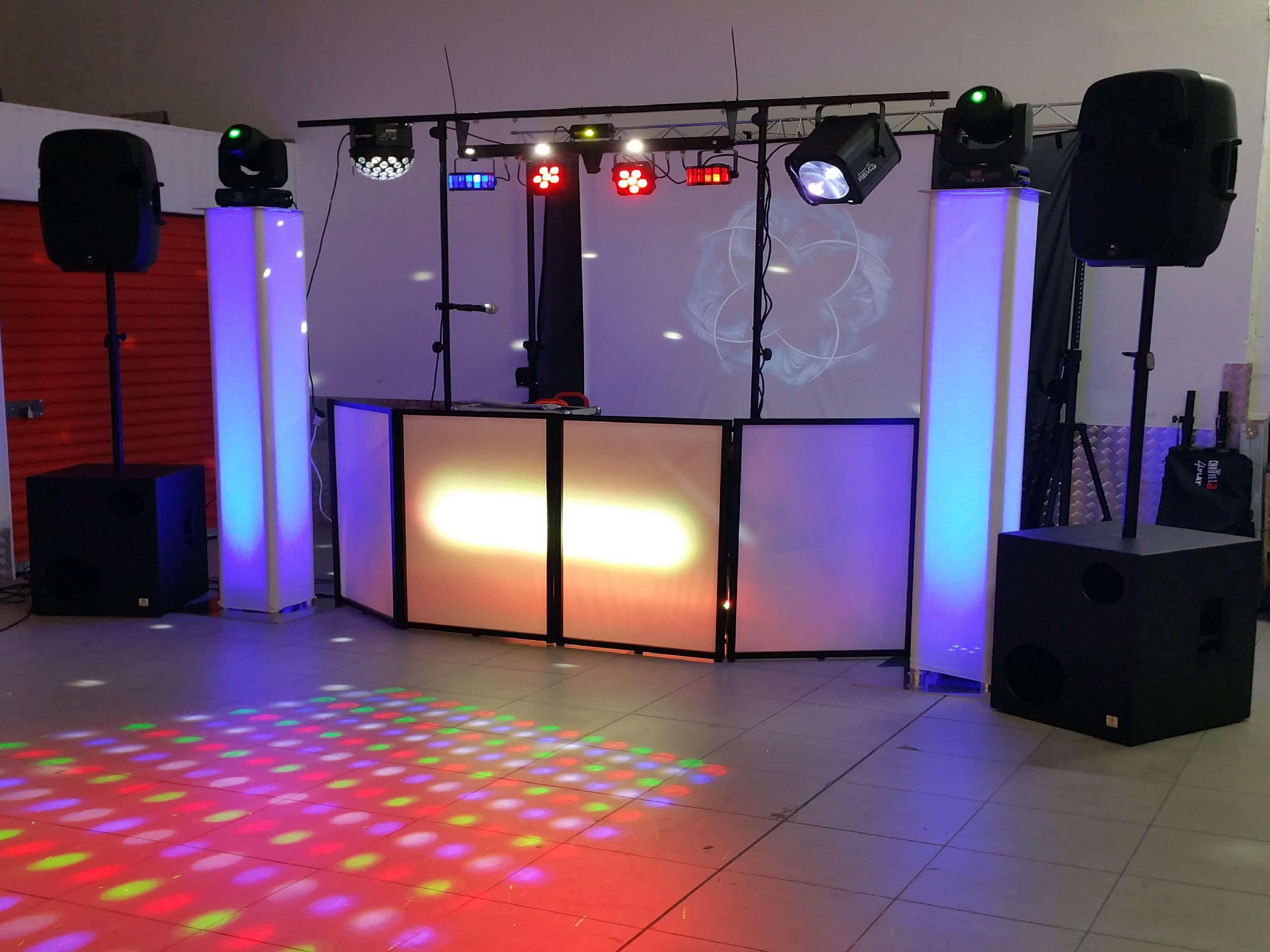 Montaje premium de discoteca movil Xcn