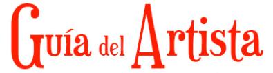 Logo Guia del artista
